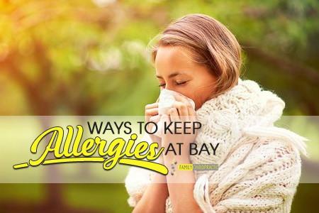 Ways To Keep Allergies At Bay