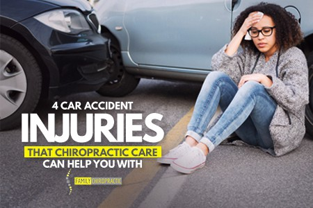 4 Car Accident Injuries That Chiropractic Care Can Help You With