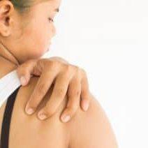 cramping shoulder
