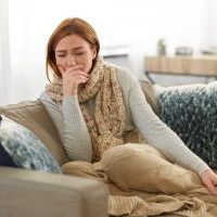 Pain worsens when you cough or sneeze