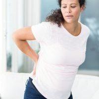 back curvature pregnancy