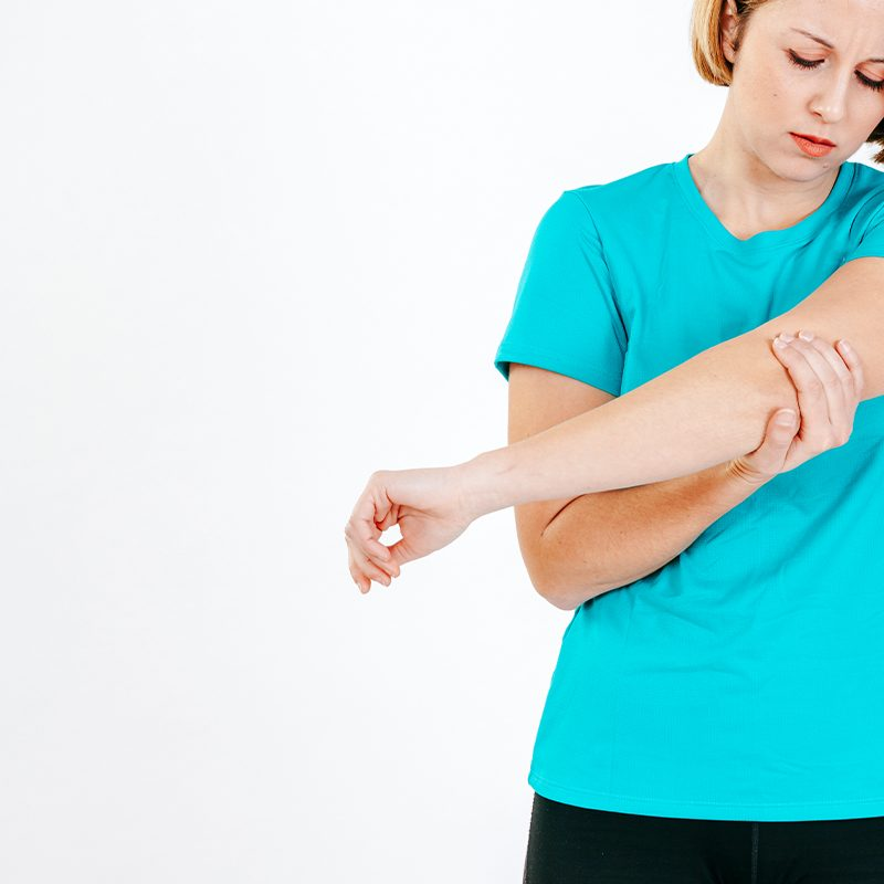 Women Elbow Pain