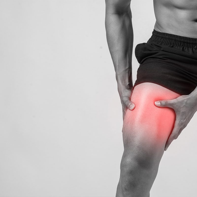 A Young Men Knee Pain
