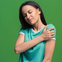 Young Women Shoulder Pain